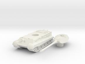 Tiger II P scale 1/87 in White Natural Versatile Plastic