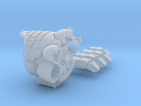 Death's Watch MkX Dreadnought fist  in Smooth Fine Detail Plastic