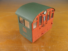 Alco NH low profile cab kit Proto 2000 S1 in Smoothest Fine Detail Plastic