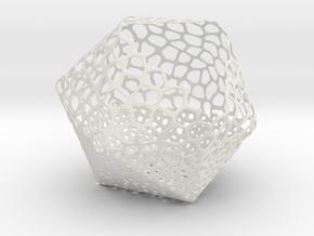 Jose portafedi voronoi in White Natural Versatile Plastic