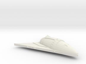 3125 Scale Hydran Scythian Escort Carrier CVN in White Natural Versatile Plastic