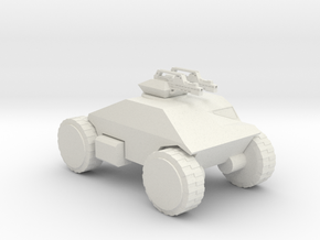 Aliens M555 scout 285 scale in White Natural Versatile Plastic
