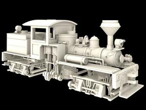 Nn3 Scale Class A, 16 Ton, 'T' Boiler Shay in Frosted Ultra Detail