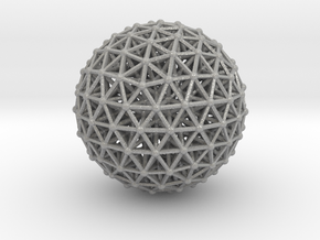 Geodesic • Two-layer Sphere in Aluminum