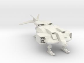 Cheyenne-w Dropship 160 scale in White Natural Versatile Plastic