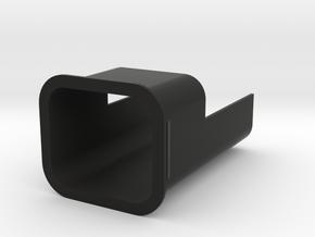 Sprinter Rear Pillar Secret Shelf in Black Natural Versatile Plastic