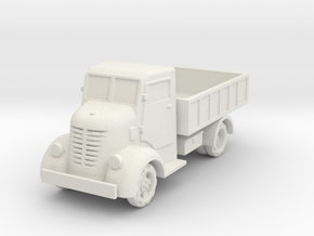 Nissan 80  1:87 in White Natural Versatile Plastic