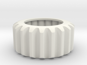 B Guard Gear in White Natural Versatile Plastic