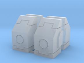 SciFi Milestones or Pillars in Smooth Fine Detail Plastic