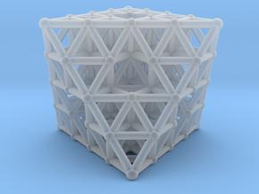 Octahedron fractal  in Smooth Fine Detail Plastic