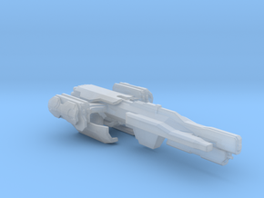 UNSC Cremlin class frigate in Smooth Fine Detail Plastic