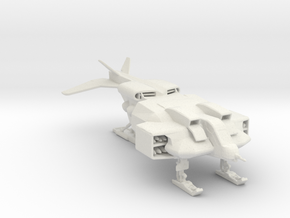 Cheyenne-w Dropship 285 scale in White Natural Versatile Plastic