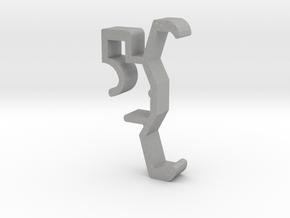 Blind Valance Clip 00129 SM in Aluminum