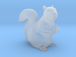 Squirrel miniature in high detail in Smooth Fine Detail Plastic