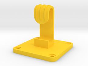 Plastic Utility Hook #1 in Yellow Processed Versatile Plastic