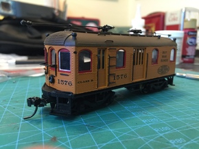 HO Illinois Terminal Class B Bowser Drive in Smooth Fine Detail Plastic