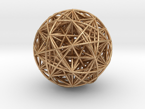 Hedron Star compound in Natural Bronze