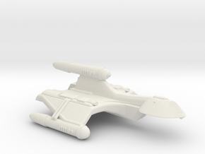 3125 Scale Romulan SparrowHawk-F+ Mauler Cruiser in White Natural Versatile Plastic