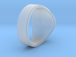 Nuperball ballparts ring Season 12 in Smooth Fine Detail Plastic