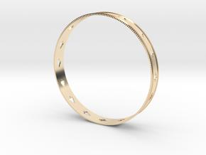 Queen of Spade's Bracelet in 14K Yellow Gold