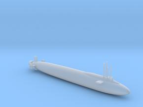 (1/600) US Navy CONFORM Submarine in Smooth Fine Detail Plastic: 1:600