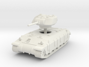 1/144 T14 Assault tank in White Natural Versatile Plastic