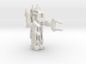 Powerloader 285 scale in White Natural Versatile Plastic