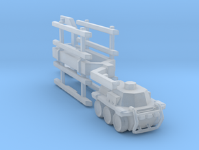 A-CMa1 Truck and Trailer 285 scale in Smooth Fine Detail Plastic
