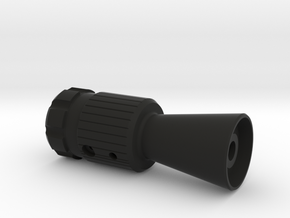 Flash hider (MGC Mauser) in Black Natural Versatile Plastic