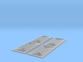 Monon Spriral End-S Scale in Smooth Fine Detail Plastic