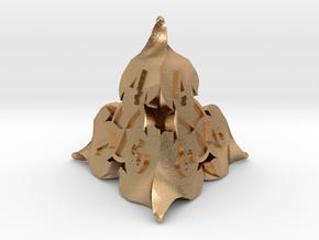 D4 Balanced - Fire in Natural Bronze