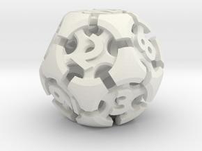 Chord d12 in White Natural Versatile Plastic