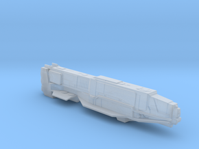 UNSC Punic supercarrier in Smooth Fine Detail Plastic
