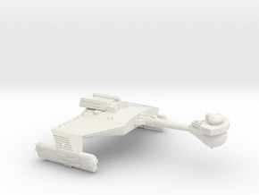3125 Scale Romulan KDR War Cruiser (Smooth) WEM in White Natural Versatile Plastic