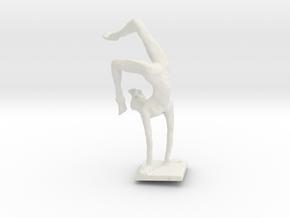 Yoga, Girl in White Natural Versatile Plastic