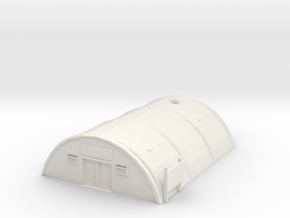 Tin Barracks in White Natural Versatile Plastic