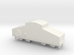 locomotive  Locotracteur Crochat 1/200 in White Natural Versatile Plastic