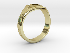 Women's Astroid Ring #1 in 18k Gold Plated Brass