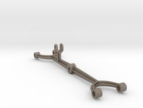 Handcar 1:6 Scale Pump Lever in Matte Bronzed-Silver Steel