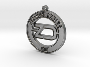 ZD in Natural Silver