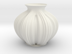 Vase 233232 in White Natural Versatile Plastic