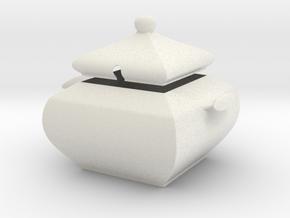 Sugar Bowl in Matte Full Color Sandstone