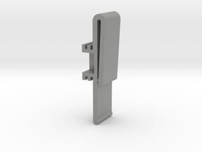 Vertical Valance Clip Delmar 01 in Gray PA12