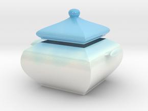 Sugar Bowl in Glossy Full Color Sandstone