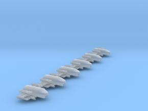 Omni Scale Klingon Z-KB Fast Heavy Fighters MGL in Smooth Fine Detail Plastic