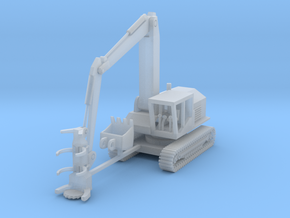 Tiger Cat 860 feller Buncher N scale in Smooth Fine Detail Plastic