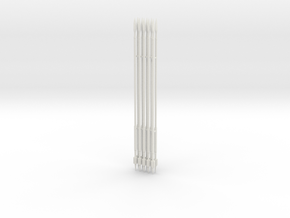 PHALANX SPEAR 22CM X10 in White Natural Versatile Plastic