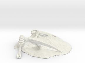 Ageless Crater Terrain in White Natural Versatile Plastic