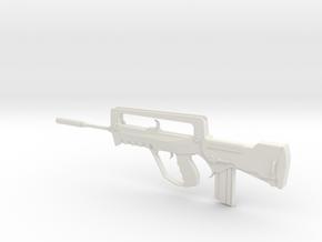 Famas in White Natural Versatile Plastic: 1:16