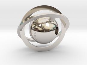 Stellar in Rhodium Plated Brass
